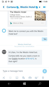 Bot Framework via Skype