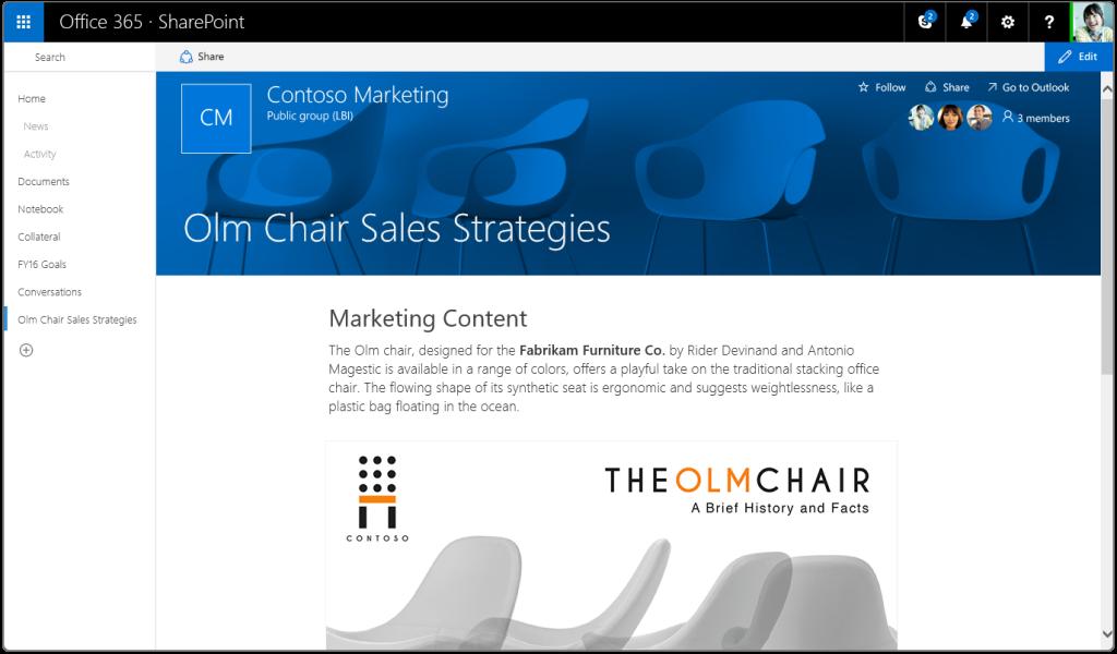 SharePoint Modern Team Site