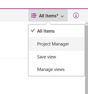 PowerView-Apps werden als View angezeigt.