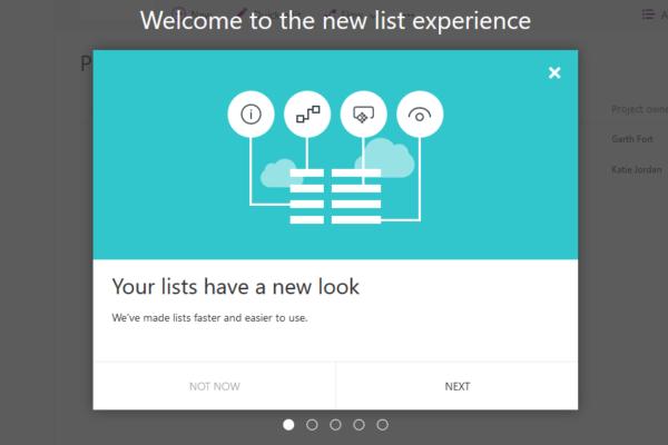 SharePoint Modern List Teaser