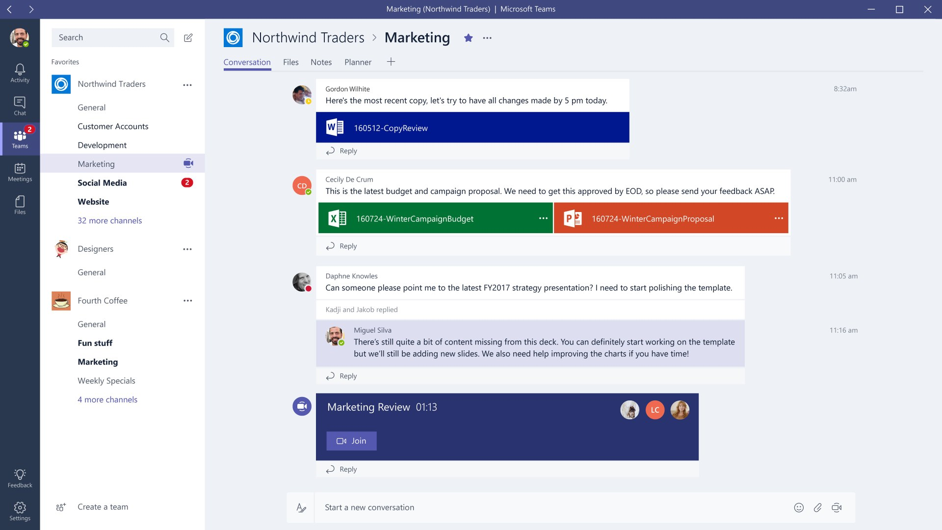 Microsoft Teams Redmond Lanciert Slack Konkurrenten