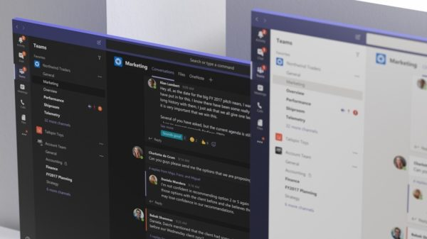Microsoft Teams Fluent Design