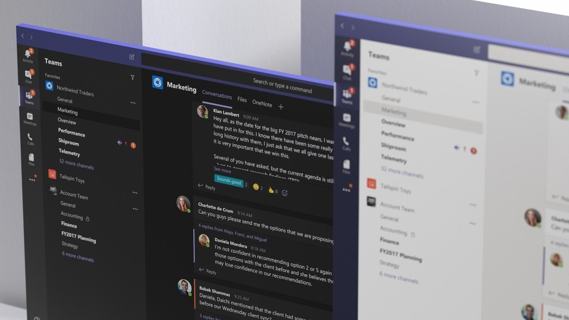 Microsoft Teams: Redmond lanciert Slack-Konkurrenten