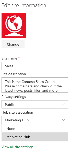 SharePoint Site Information
